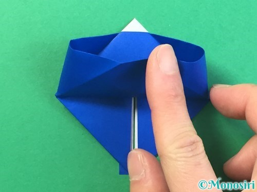 折り紙ではっぴの折り方手順24