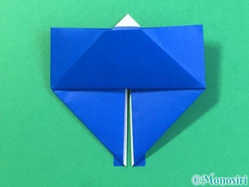 折り紙ではっぴの折り方手順25