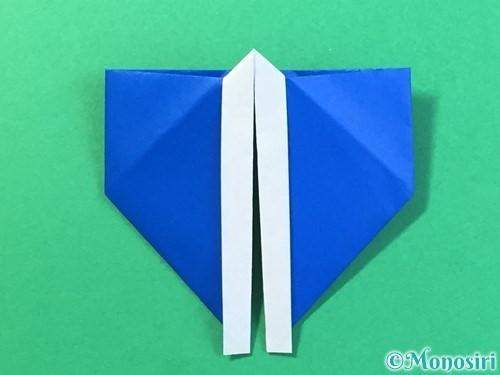 折り紙ではっぴの折り方手順26