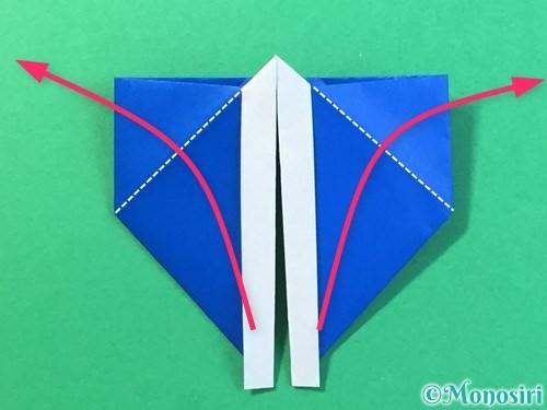 折り紙ではっぴの折り方手順27