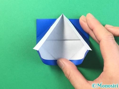 折り紙ではっぴの折り方手順31