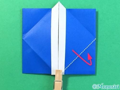 折り紙ではっぴの折り方手順33