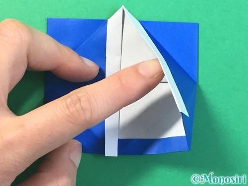 折り紙ではっぴの折り方手順34