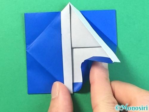 折り紙ではっぴの折り方手順35