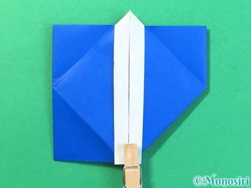 折り紙ではっぴの折り方手順36