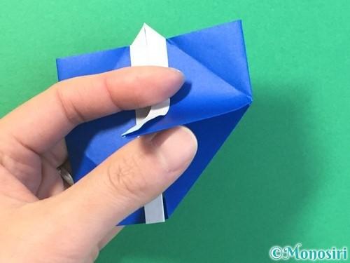 折り紙ではっぴの折り方手順37