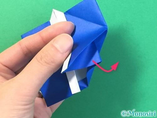 折り紙ではっぴの折り方手順38