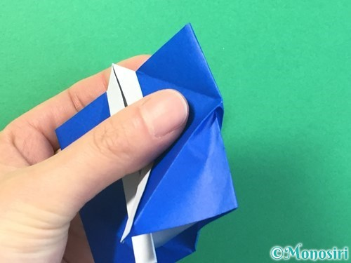 折り紙ではっぴの折り方手順39