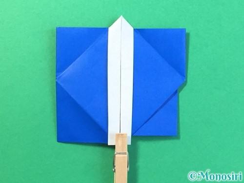 折り紙ではっぴの折り方手順41