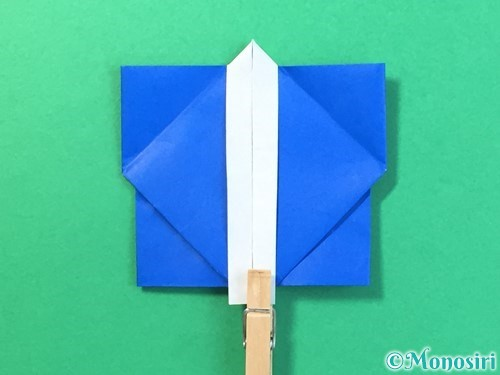 折り紙ではっぴの折り方手順42