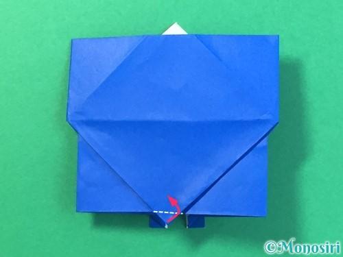 折り紙ではっぴの折り方手順44
