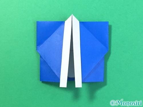 折り紙ではっぴの折り方手順46