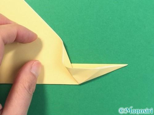 折り紙で麦わら帽子の折り方手順8