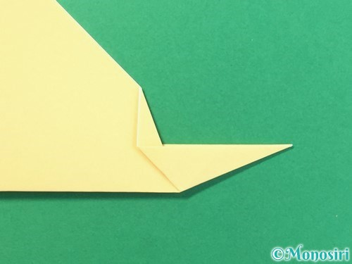 折り紙で麦わら帽子の折り方手順9