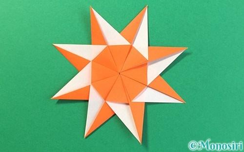 折り紙で作った太陽