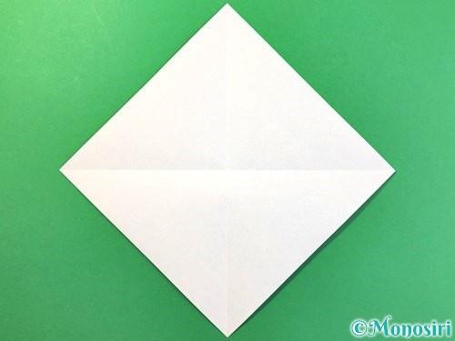 折り紙でアイスの折り方手順2