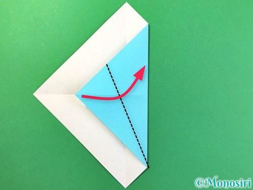 折り紙でアイスの折り方手順5
