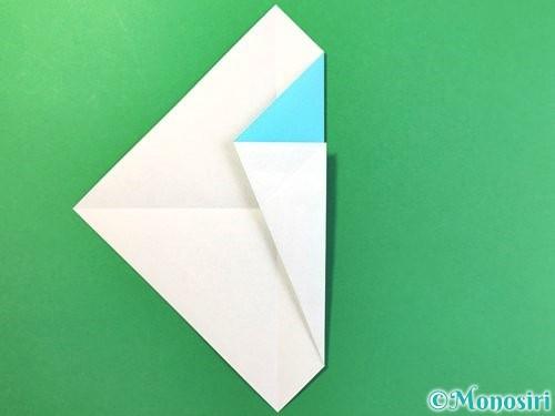 折り紙でアイスの折り方手順6