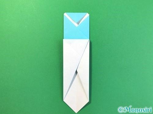 折り紙でアイスの折り方手順9