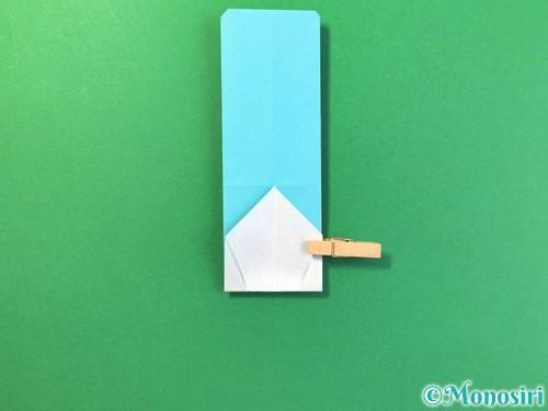 折り紙でアイスの折り方手順12