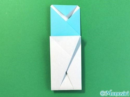 折り紙でアイスの折り方手順13