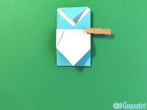 折り紙でアイスの折り方手順15