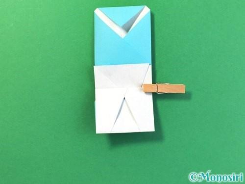 折り紙でアイスの折り方手順17