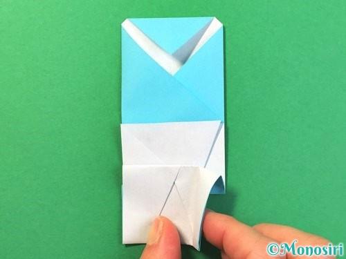 折り紙でアイスの折り方手順19