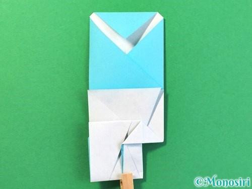 折り紙でアイスの折り方手順21