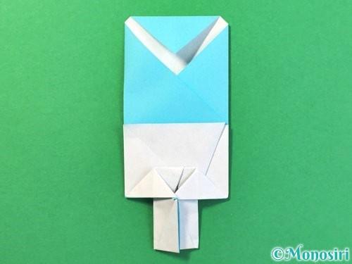 折り紙でアイスの折り方手順22