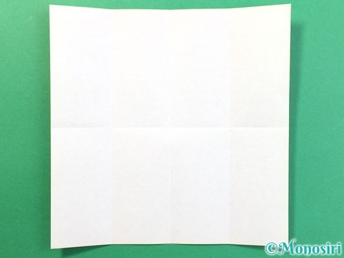 折り紙で風鈴の作り方手順4