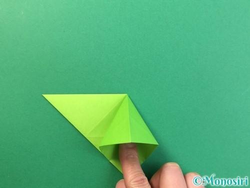 折り紙で風鈴の作り方手順14