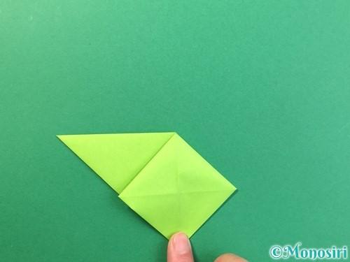 折り紙で風鈴の作り方手順15