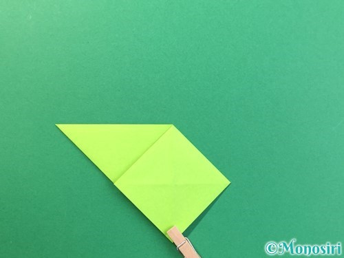 折り紙で風鈴の作り方手順16
