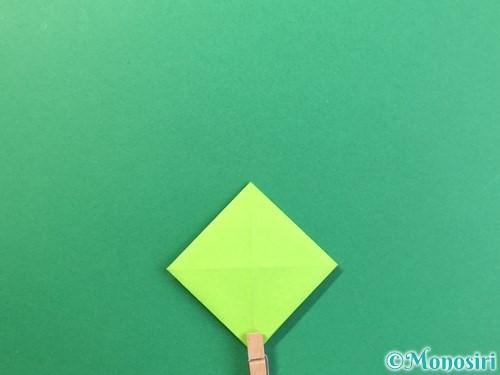 折り紙で風鈴の作り方手順17