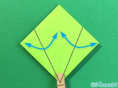 折り紙で風鈴の作り方手順18