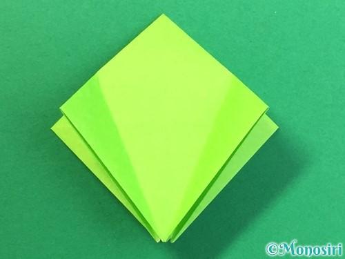折り紙で風鈴の作り方手順19