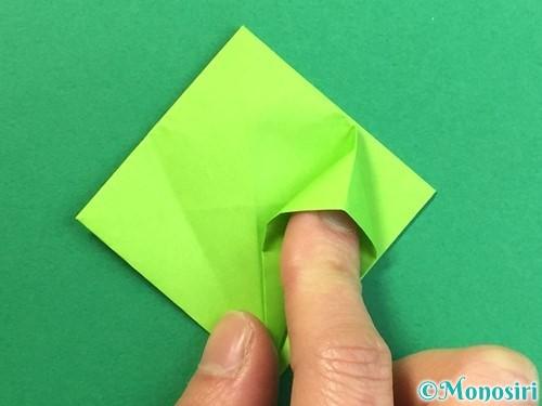 折り紙で風鈴の作り方手順21