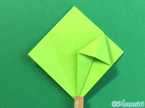 折り紙で風鈴の作り方手順22