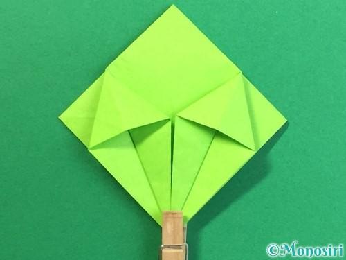 折り紙で風鈴の作り方手順23