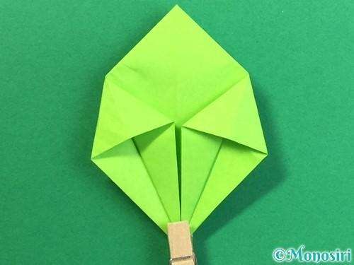折り紙で風鈴の作り方手順24