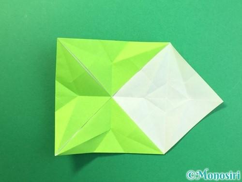 折り紙で風鈴の作り方手順25