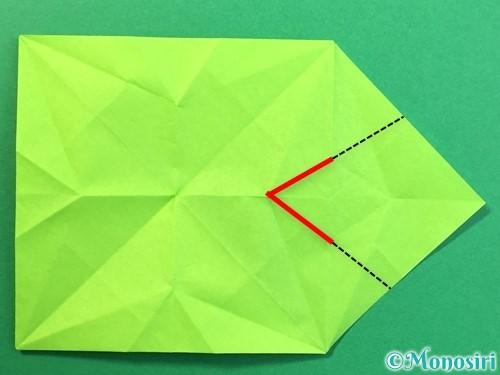 折り紙で風鈴の作り方手順27