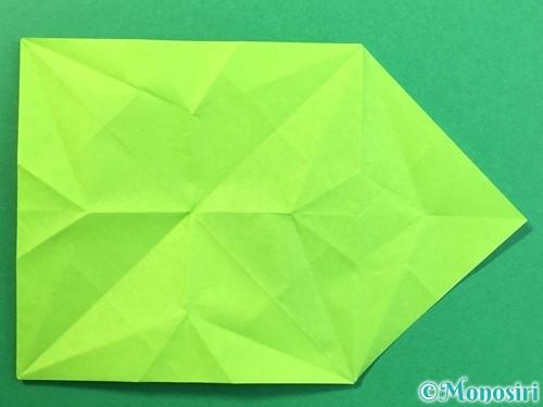 折り紙で風鈴の作り方手順26