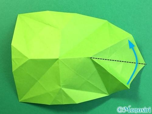 折り紙で風鈴の作り方手順29