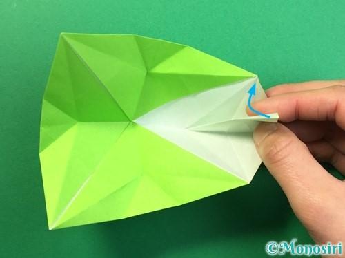 折り紙で風鈴の作り方手順33