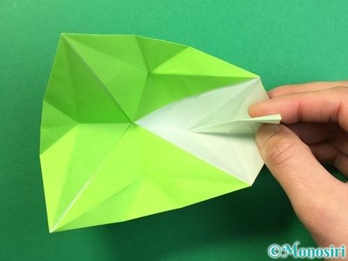 折り紙で風鈴の作り方手順32