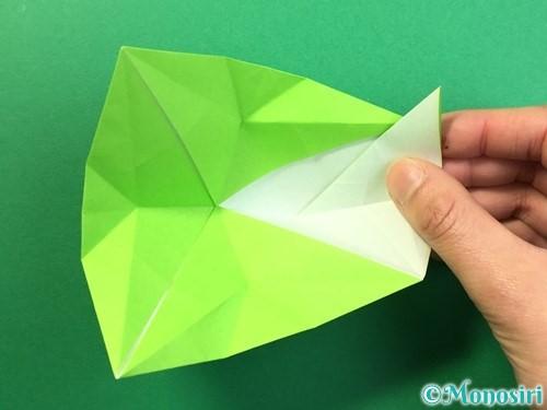 折り紙で風鈴の作り方手順34