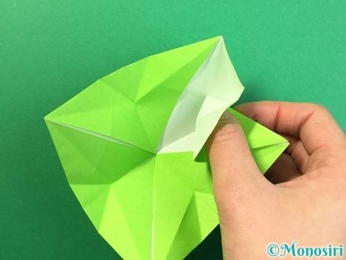 折り紙で風鈴の作り方手順36