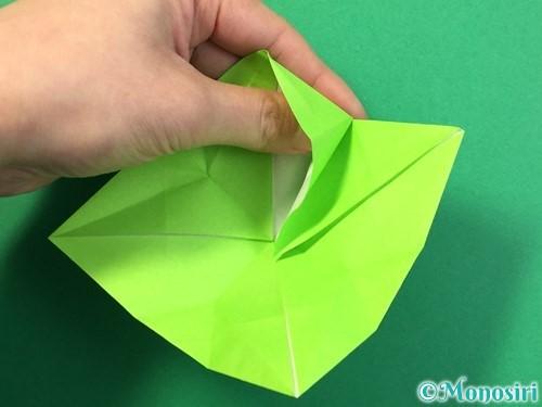折り紙で風鈴の作り方手順37